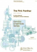 THE PINK PANTER by H.Mancini - mix clarinet quartet  (2x Bb, 1x Eb, 1x Bb Bass Clarinets) - grade 4