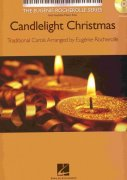 CANDLELIGHT CHRISTMAS by Eugenie Rocherolle + CD / sólo klavír