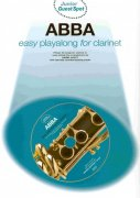 ABBA easy arrangements + CD / klarinet