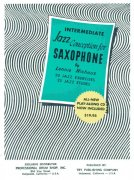 Jazz Conception for Saxophone by Lennie Niehaus 3 (green) + CD for  Eb instruments