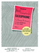 Jazz Conception for Saxophone by Lennie Niehaus 1 (red) + CD   for C / Bb / Eb instruments