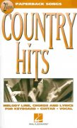 Paperback Songs - COUNTRY HITS vocal / chord