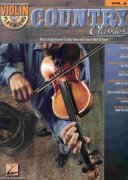 VIOLIN PLAY-ALONG 8 - COUNTRY CLASSICS + Audio Online