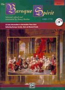THE BAROQUE SPIRIT 1 + CD solo klavír