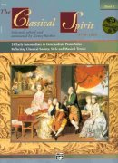 THE CLASSICAL SPIRIT 1 + CD intermediate piano solos