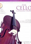 THE CELLO COLLECTION (easy - intermediate) + Audio online / violoncello + klavír