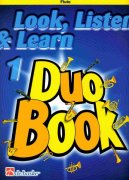 LOOK, LISTEN & LEARN 1 - Duo Book for Flute / příčná flétna
