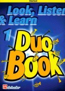 LOOK, LISTEN & LEARN 1 - Duo Book for Clarinet / klarinet
