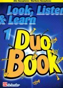 LOOK, LISTEN & LEARN 1 - Duo Book for Alto(Baritone) Sax / altový saxofon
