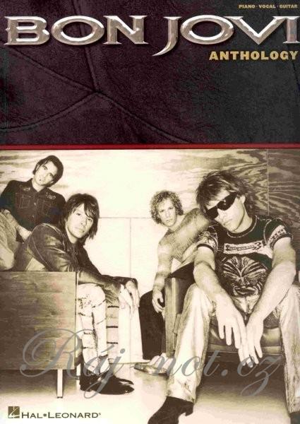 Bon Jovi Anthology : piano - vocal - gui, Bon Jovi, Jon, 1962- (zpěvák, kytarista)