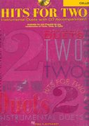 HITS FOR TWO + CD / dueta pro violoncello