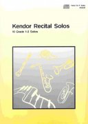 Kendor Recital Solos for Horn in F + CD  solos book / lesní roh