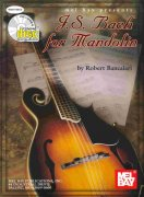 J.S. Bach for Mandolin + CD / mandolína + tabulatura