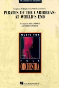 PIRATES OF THE CARIBBEAN: AT WORLD'S END full orchestra / partitura + party