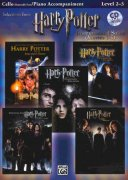 HARRY POTTER - selections from movies 1-5 + CD / violoncello + klavír