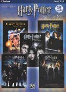 HARRY POTTER - selections from movies 1-5 + CD pro klarinet