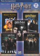 HARRY POTTER - selections from movies 1-5 + CD piano accompaniment