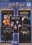 HARRY POTTER - selections from movies 1-5 + CD pro tenor saxofon