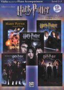 HARRY POTTER - selections from movies 1-5 + CD / housle + klavír