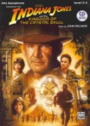 INDIANA JONES & THE KINGDOM OF THE CRYSTAL SKULL + CD / altový saxofon