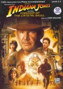 INDIANA JONES & THE KINGDOM OF THE CRYSTAL SKULL + CD / violoncello a piano