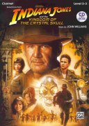INDIANA JONES & THE KINGDOM OF THE CRYSTAL SKULL + CD / klarinet