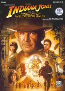 INDIANA JONES & THE KINGDOM OF THE CRYSTAL SKULL + CD / příčná flétna