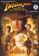 INDIANA JONES & THE KINGDOM OF THE CRYSTAL SKULL + CD / klavírní doprovod
