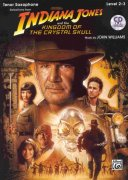 INDIANA JONES & THE KINGDOM OF THE CRYSTAL SKULL + CD / tenorový saxofon