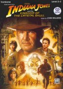 INDIANA JONES & THE KINGDOM OF THE CRYSTAL SKULL + CD / trombon (pozoun)