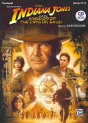 INDIANA JONES & THE KINGDOM OF THE CRYSTAL SKULL + CD / trumpeta