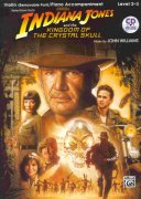 INDIANA JONES & THE KINGDOM OF THE CRYSTAL SKULL + CD / housle a piano