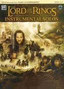 LORD OF THE RINGS - INSTRUMENTAL SOLOS + CD / violoncello + klavír