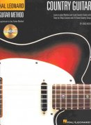 COUNTRY GUITAR + CD (Hal Leonard Guitar Method) / kytara + tabulatura