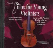 SOLOS FOR YOUNG VIOLINISTS 6 - CD s klavírním doprovodem