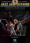 JAZZ JAM SESSION + CD  your improvisation with a professional jazz band
