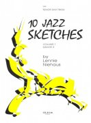 10 JAZZ SKETCHES 1 by Lennie Niehaus - tenor sax trio