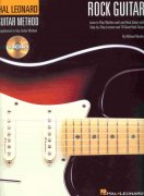 ROCK GUITAR + CD (Hal Leonard Guitar Method) / kytara + tabulatura
