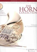 THE HORN COLLECTION (intermediate - advanced) + 2x CD lesní roh (f horn) + klavír