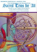Sacred Trios For All  -  trombon (pozoun)/tuba/fagot