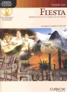FIESTA - Mexican & South American Favorites + CD / tenor saxofon