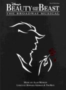 BEAUTY AND THE BEAST: The Broadway Musical - klavír/zpěv/kytara
