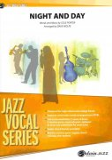Night and Day - vocal (tenor sax) solo & jazz band (grade 3,5) / partitura + party
