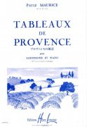 TABLEAUX DE PROVENCE by Paule Maurice for Alto Sax & Piano / altový saxofon + klavír