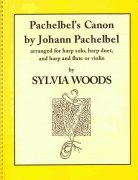 CANON by Johann Pachelbel for harp solo, harp duet and harp & flute (violin)