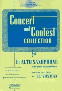 CONCERT & CONTEST COLLECTIONS for Alto Sax - CD s klavírním doprovodem