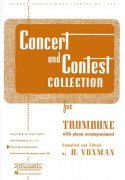 CONCERT & CONTEST COLLECTIONS for Trombone - klavírní doprovod