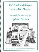 50 Irish Melodies for All Harps arranged by Sylvia Woods