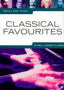 Really Easy Piano - CLASSICAL FAVORITES (24 well-know classics)