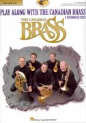 Play Along with the Canadian Brass  (intermediate) + CD trumpeta 2